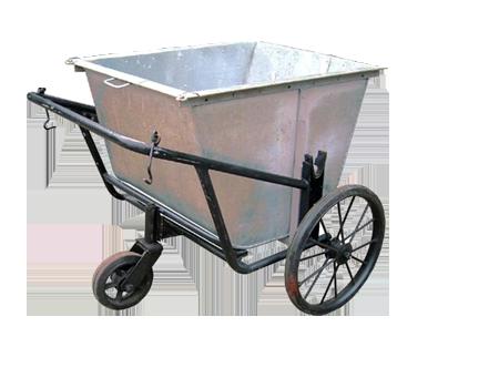 xe gom rác 400L thùng inox