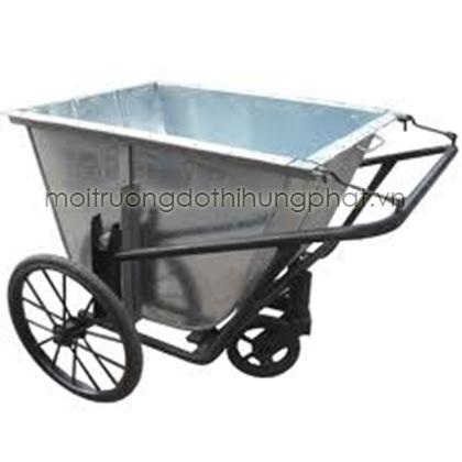 xe gom rác 400L thùng tôn