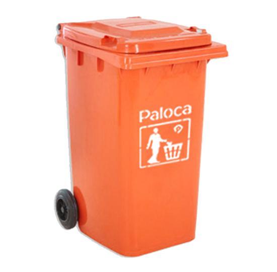 thùng rác composite màu cam